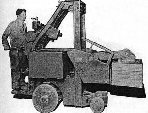 Elektryczny wózek widłowy