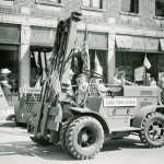 Jeden z pierwszych wózków terenowych - 1942