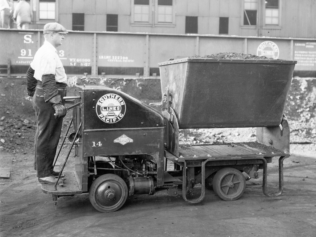 Trucklift - pierwszy wózek z układem hydraulicznym