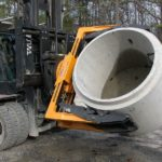 Chwytak do wyrobów betonowych